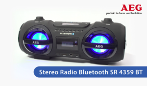 Standbild Produktfilm AEG Bluetooth-Radio