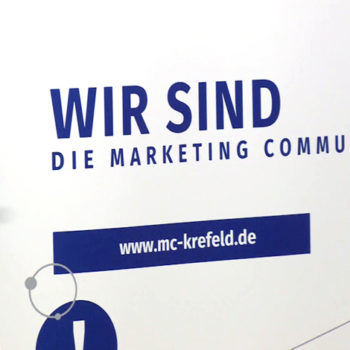 Standbild Marketing Club Krefeld