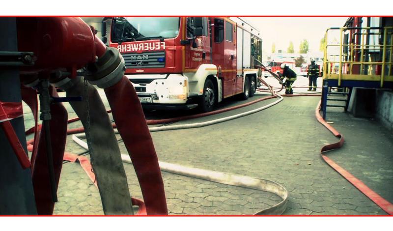 Standbild Imagefilm 100 Jahre Henkel Werkfeuerwehr